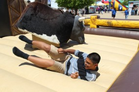 How mechanical bull works and mechanical bull rentals.